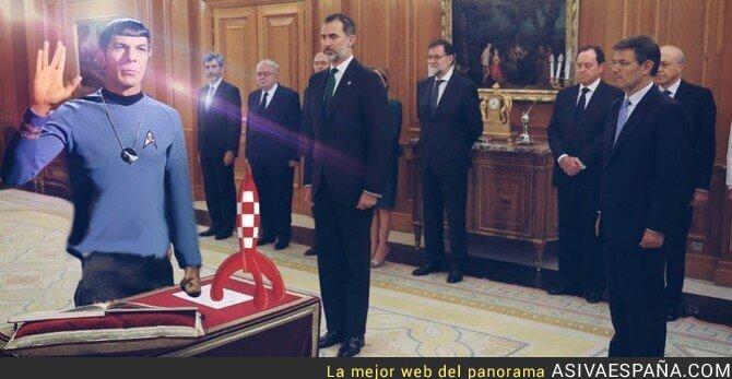 88018 - Pedro Duque jurando su cargo, por @MikaelMZJ