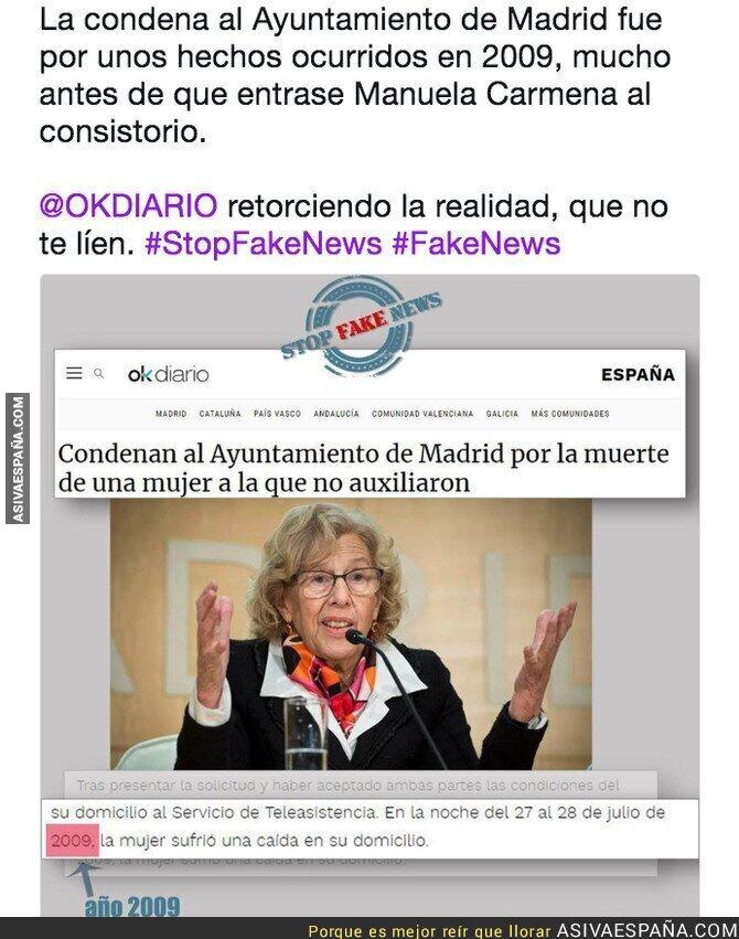 88078 - Periodismo basura de OKDiario intentando confundir con sus titulares y fotos