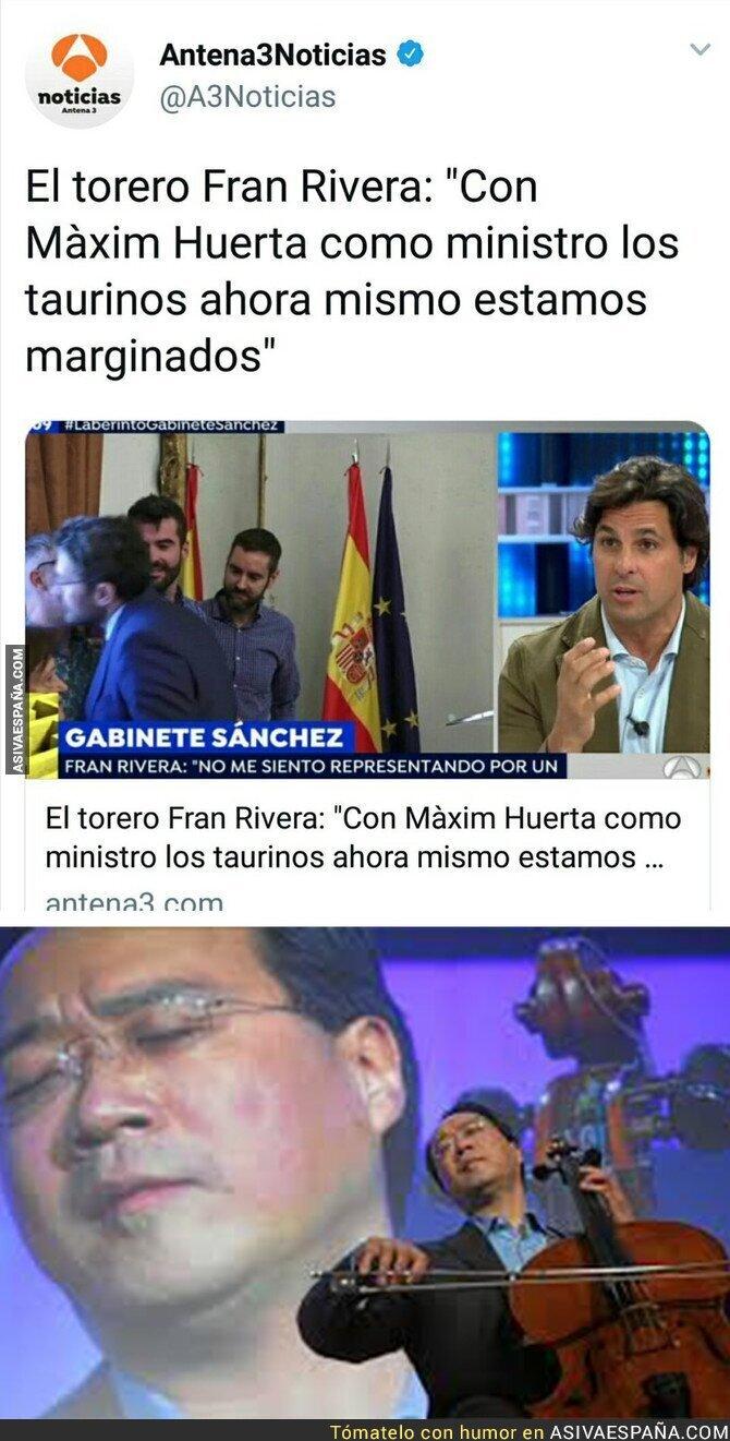 88085 - Maxim Huerta tiene enfurecidos a todos los toreros