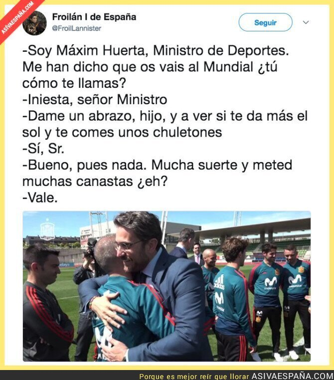 88086 - Máxim Huerta va lentamente con el deporte