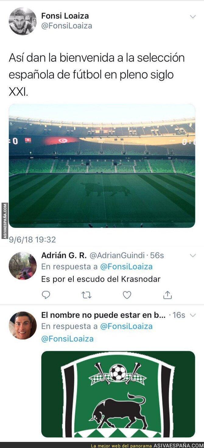88212 - Fonsi Loaiza, el azote del periodismo, hace el ridículo criticando a España en un partido amistoso en Rusia