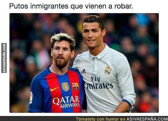 88239 - Como cambian las cosas cuando son los futbolistas los que vienen a nuestro país a robar