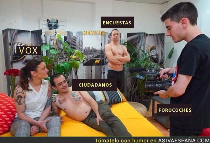 88298 - Situación de los partidos fachas en España