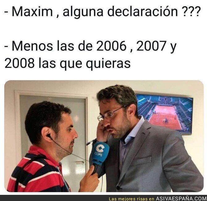 88391 - Maxim Huerta ante los medios