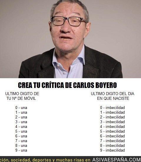 88465 - Carlos Boyero y las críticas
