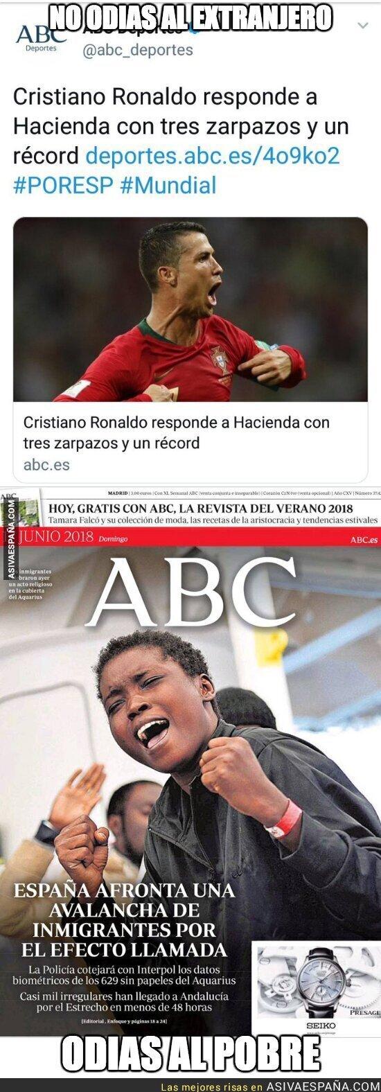 88484 - El periodismo basura del diario ABC