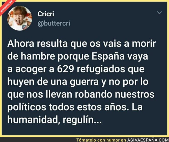 88504 - Los refugiados son el menor de los problemas en España