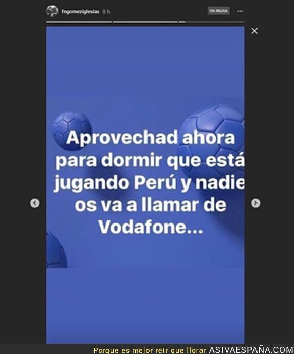 88547 - El lamentable mensaje del Pequeño Nicolás contra los peruanos durante el Perú-Dinamarca del Mundial