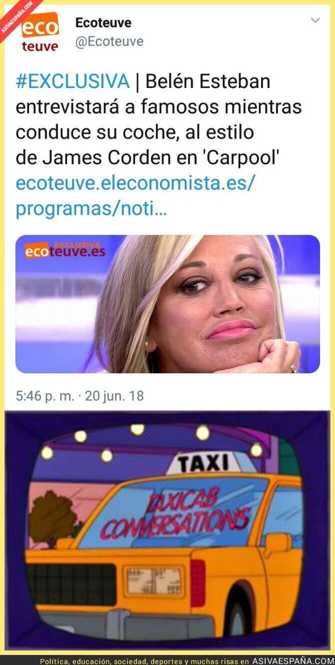 88654 - Belén Esteban será la James Corden de Telecinco