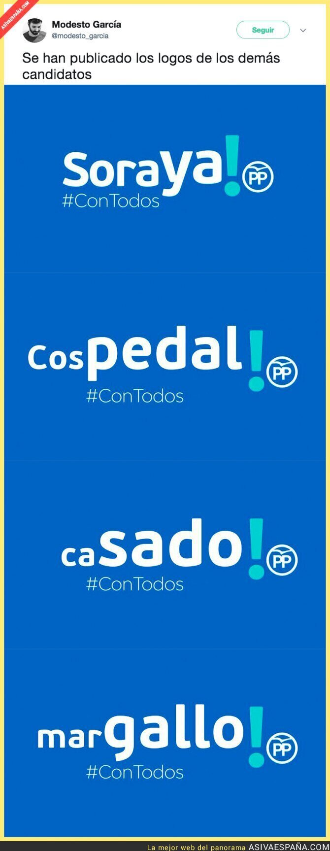 88665 - Presentan el lema de Soraya Sáenz de Santamaría... y el del resto de candidatos