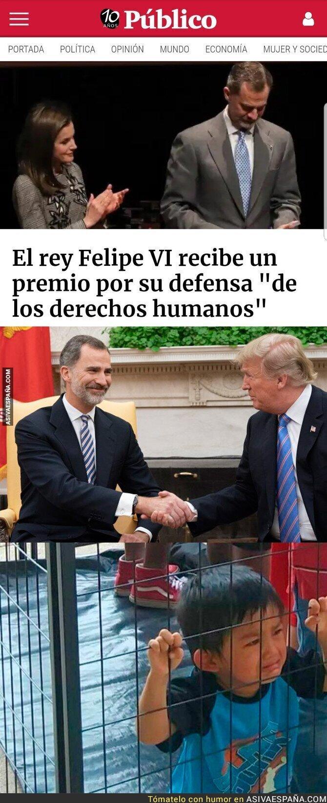 88741 - El Rey Felipe de los derechos humanos