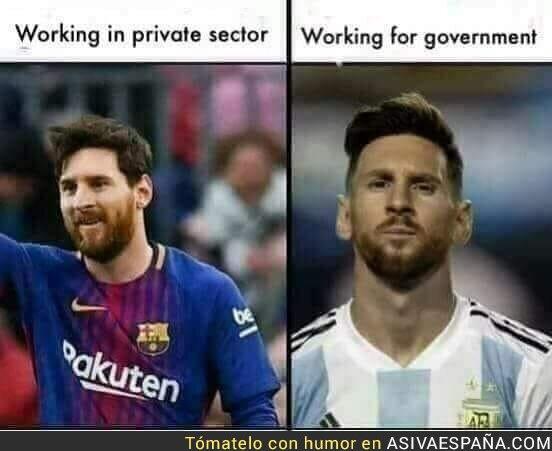 88750 - Trabajar en el sector privado vs trabajar para el gobierno