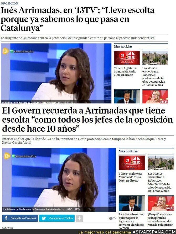 88819 - Las mentiras de Inés Arrimadas para crear  conflicto en Catalunya