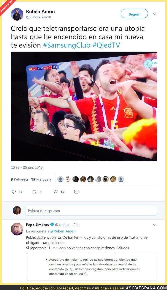 88873 - Para lo que han quedado algunos periodistas... Publicidad encubierta de Ruben Amón en Twitter