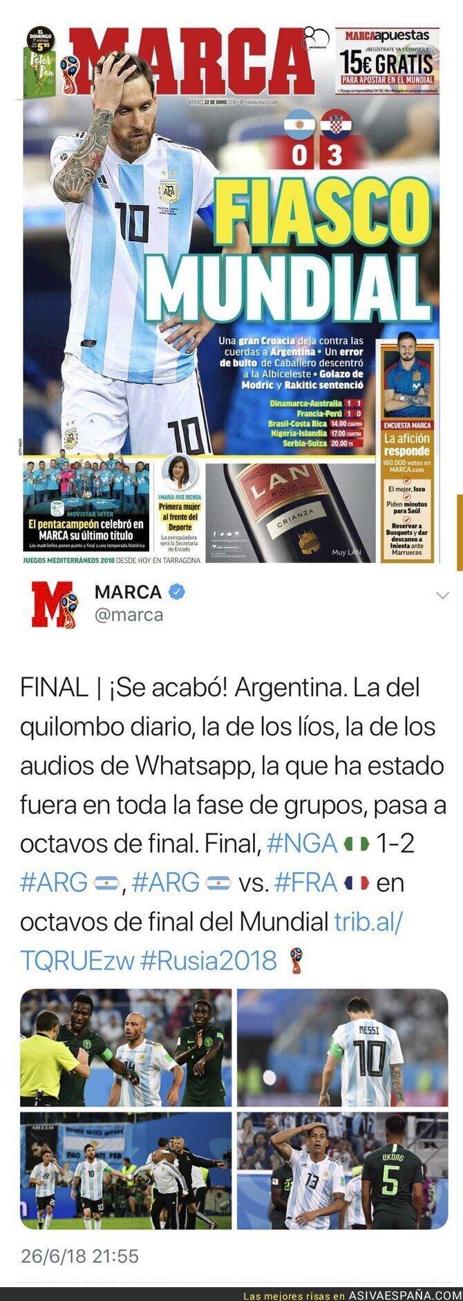 88884 - El diario MARCA y sus noticias en pocos días