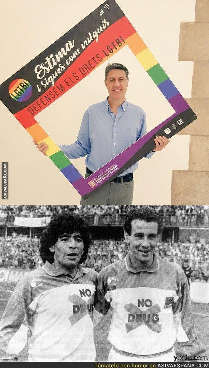 88985 - Xavier García Albiol apoyando el colectivo LGTBI es algo así