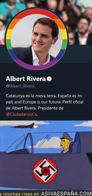 88989 - Lo que parece cuando Albert Rivera usa las banderas