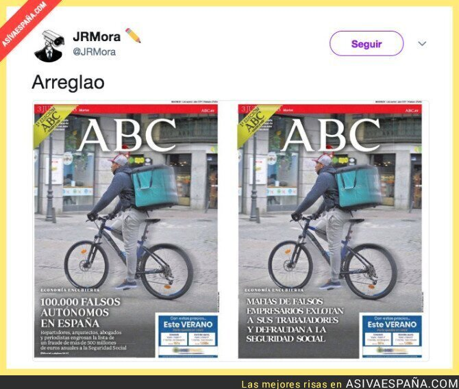 89171 - Arreglando la portada de ABC