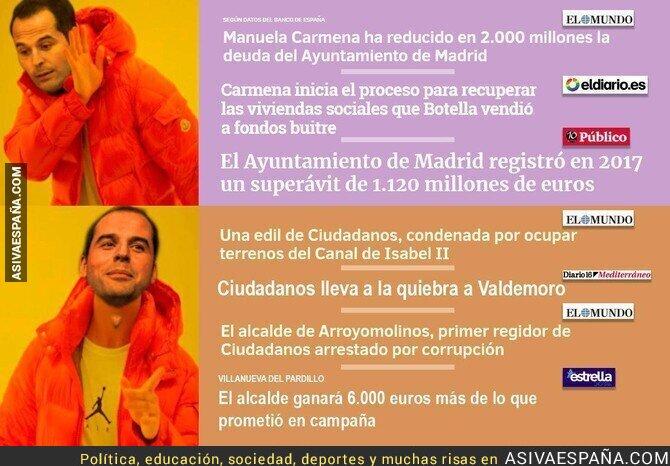 89185 - La diferencia entre Ciudadanos y Podemos es evidente