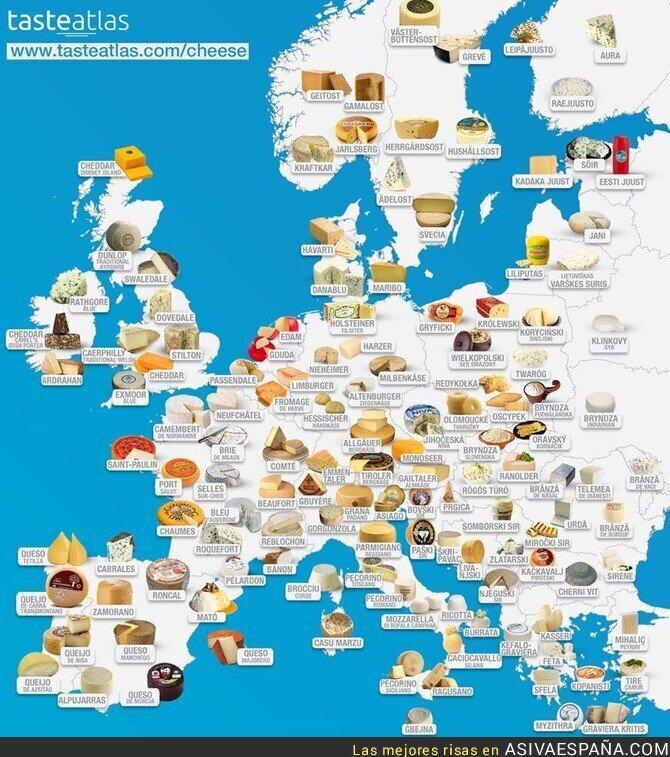 89199 - Los mejores quesos europeos en un solo lugar! Estos son los representantes de España