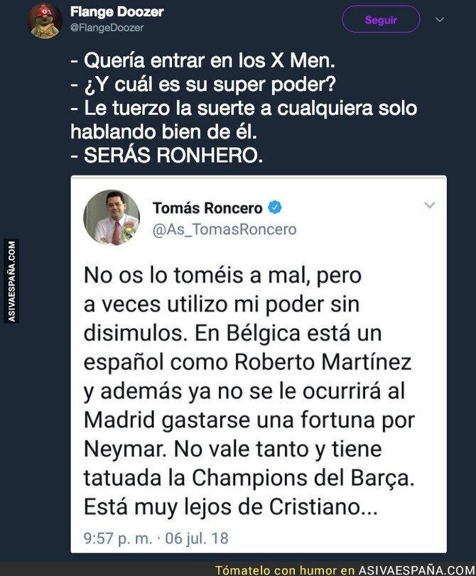 89314 - Roncero es nuestro superhéroe español