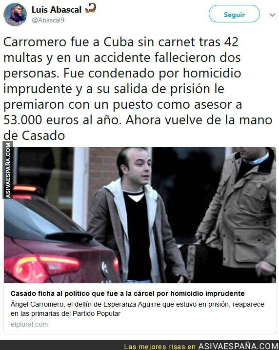 89352 - Casado ficha a Carromero: