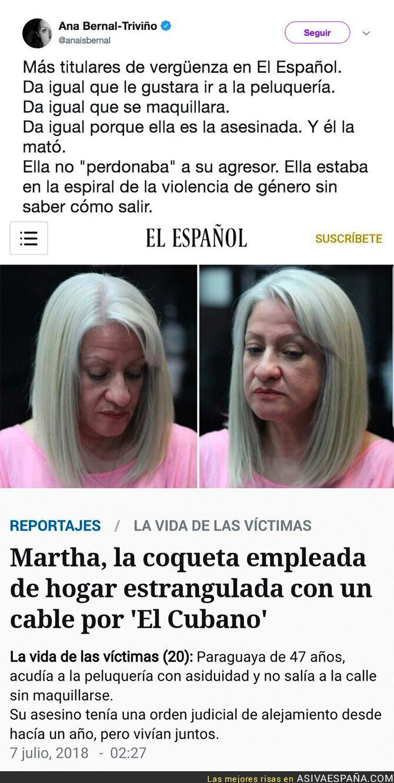 89381 - 'El Español' culpa a la víctima en un lamentable titular