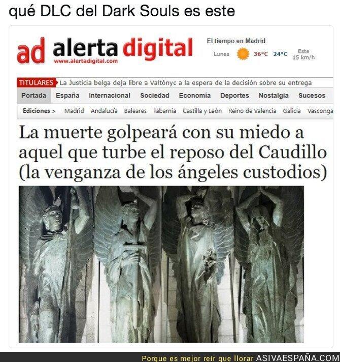 89385 - ¡Que nadie se acerque a la tumba de Franco o morirá!