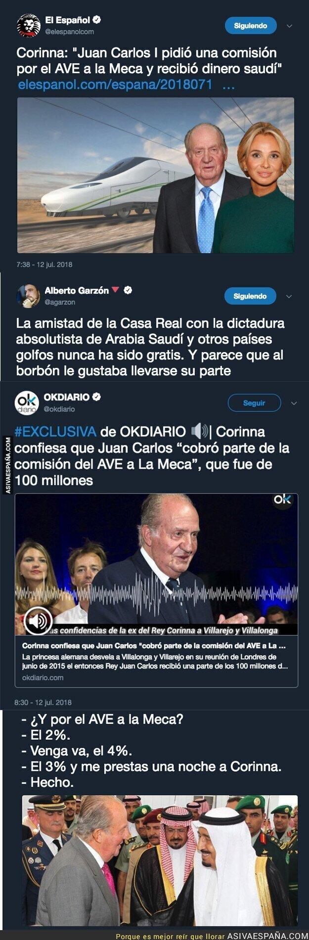 89495 - El gran escándalo del Rey Juan Carlos y las comisiones desveladas por su ex-novia Corinna