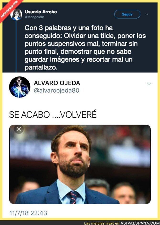 89500 - Este es el nivel de Álvaro Ojeda