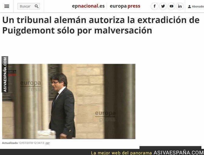 89509 - Extraditan a Puigdemont