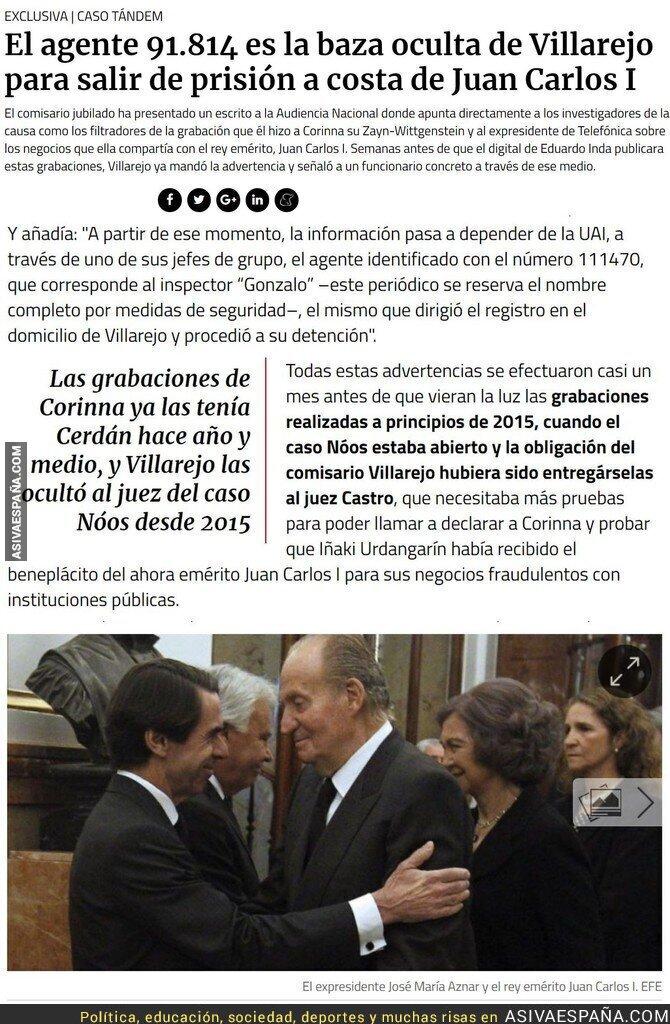 89692 - ¿Entendéis ya por qué esto no salió durante el caso Noos? Porque Villarejo le ha mandado a Inda que le salve el pellejo...