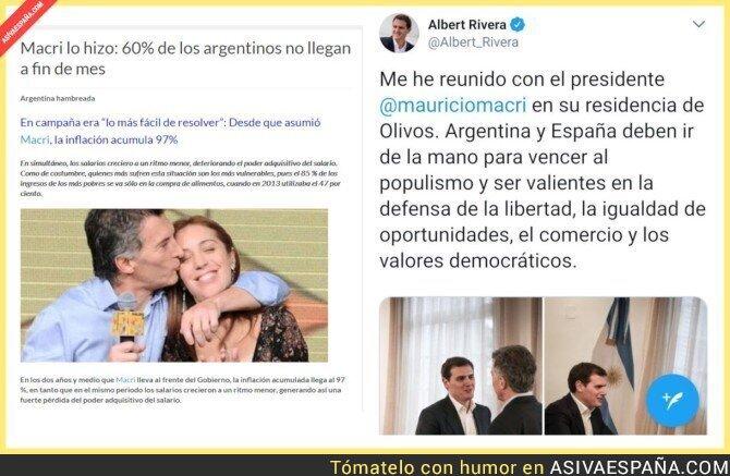 89867 - Albert Rivera se va a Argentina a repartir abrazos