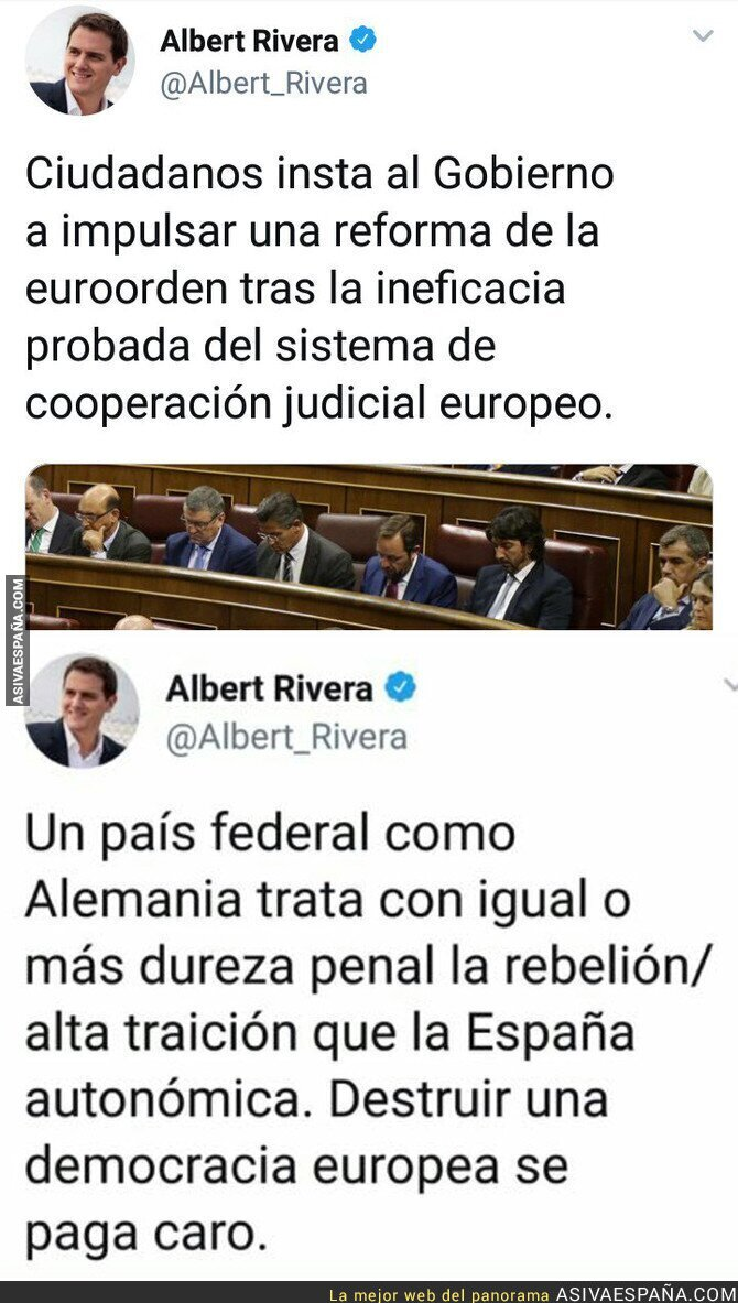 89875 - Albert Rivera a la desesperada con Carles Puigdemont