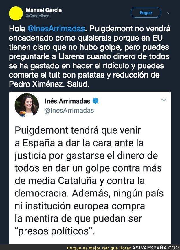 89897 - Inés Arrimadas queda retratada por completo