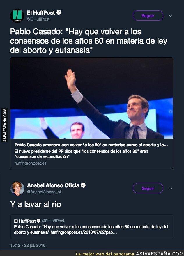 89982 - Anabel Alonso responde a las políticas de Pablo Casado que nos llevan a los años 80