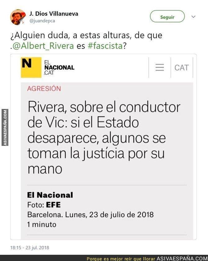 90038 - Albert Rivera justificando que se salten las leyes...