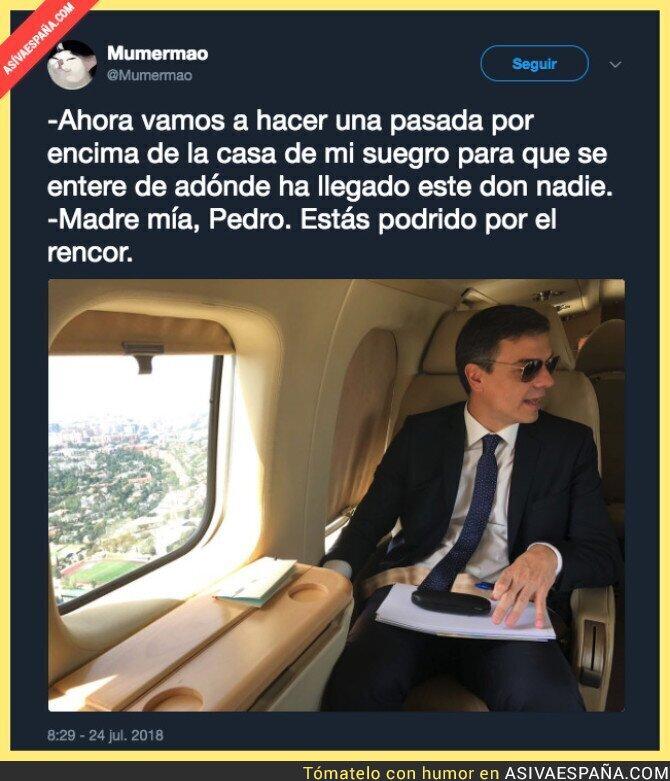 90061 - Pedro Sánchez y el uso del avión presidencial