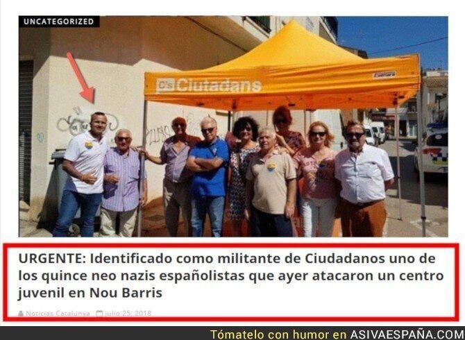 90120 - CONFIRMADO: Ciudadanos tiene neonazis en sus filas
