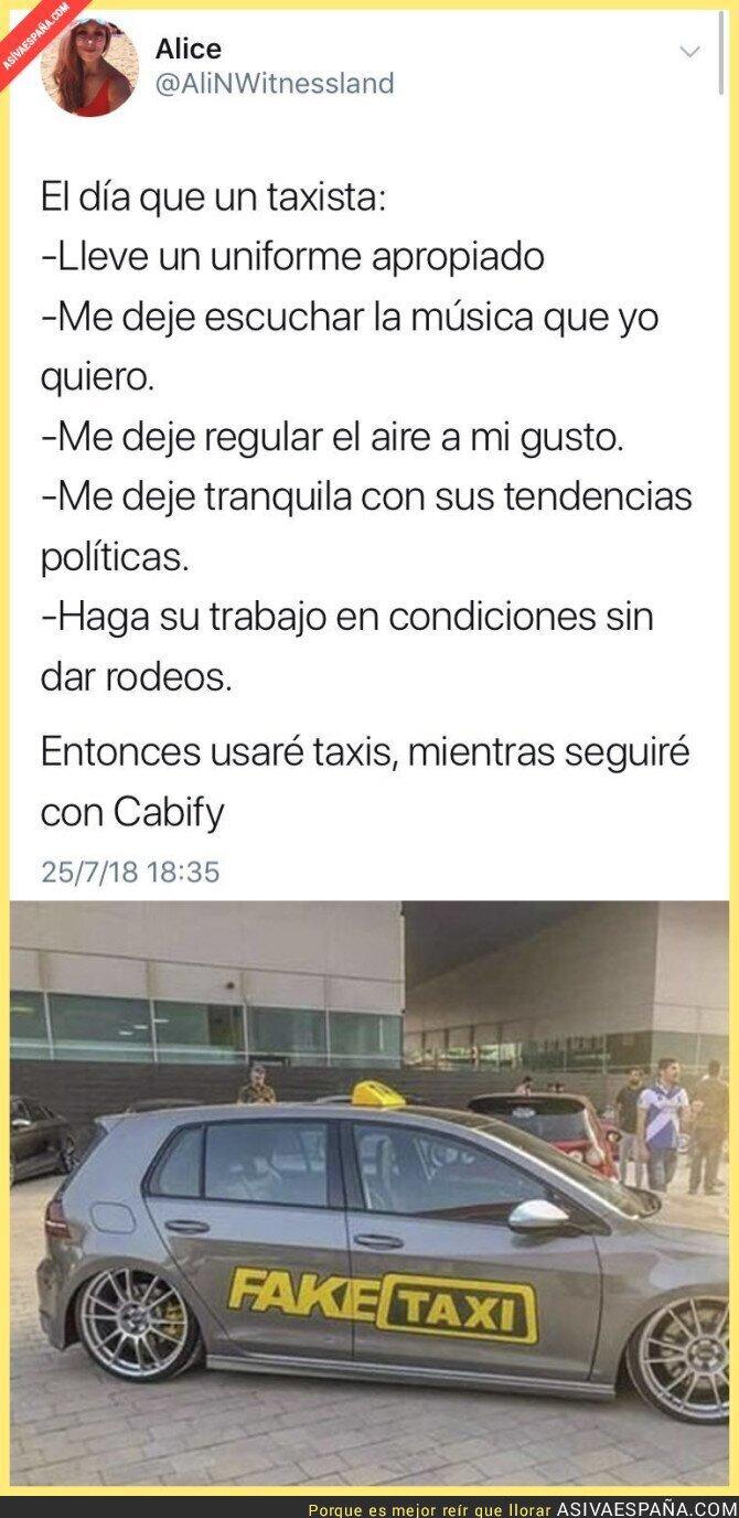 90149 - El taxi perfecto que ella busca