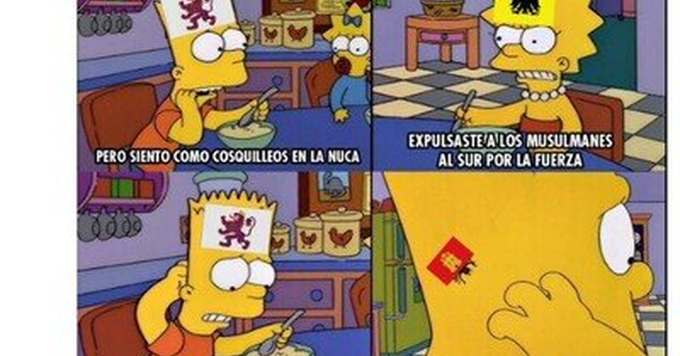 Asi Va Espana El Reino De Leon Siente Un Cosquilleo En La Nuca