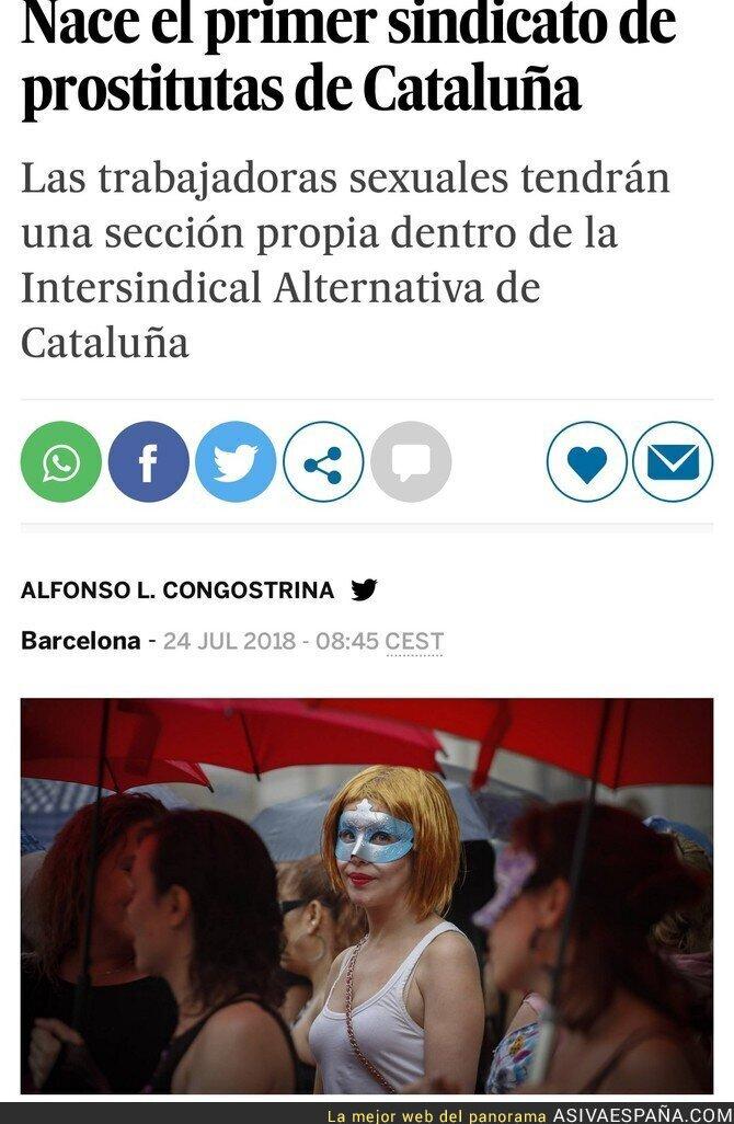 90230 - Primer sindicato de prostitutas en Cataluña.
