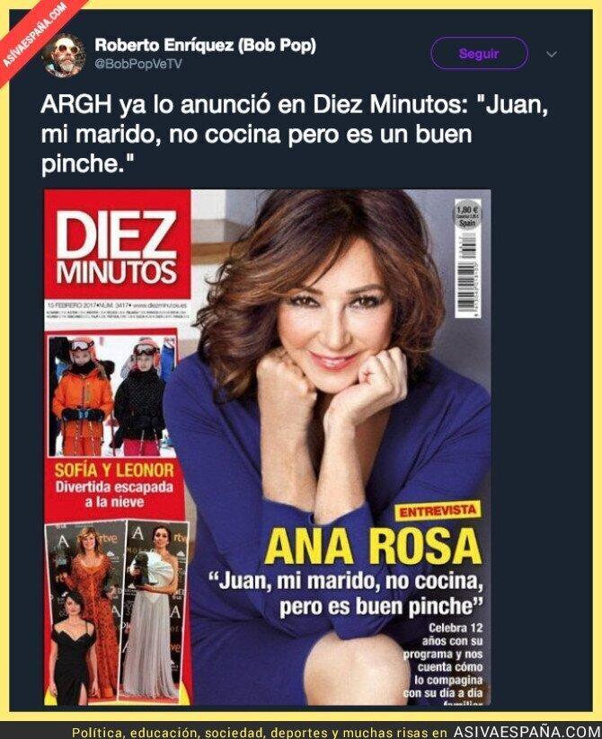 90322 - Ana Rosa Quintana ya lo dijo hace tiempo