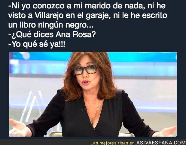 90323 - Ana Rosa está confundida