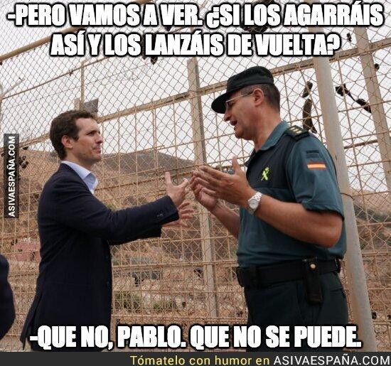 90376 - Pablo Casado y su táctica anti inmigrantes