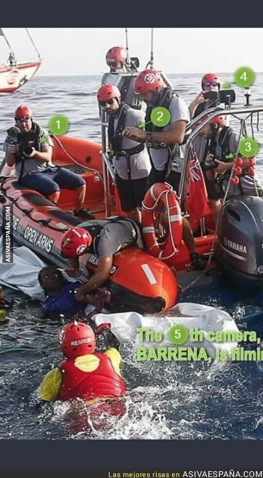 90650 - ¿Personas ahogándose en el mar? Mejor hacemos unas fotos. Así funciona Open Arms