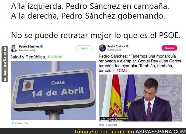 90717 - Las dos caras de Pedro Sánchez