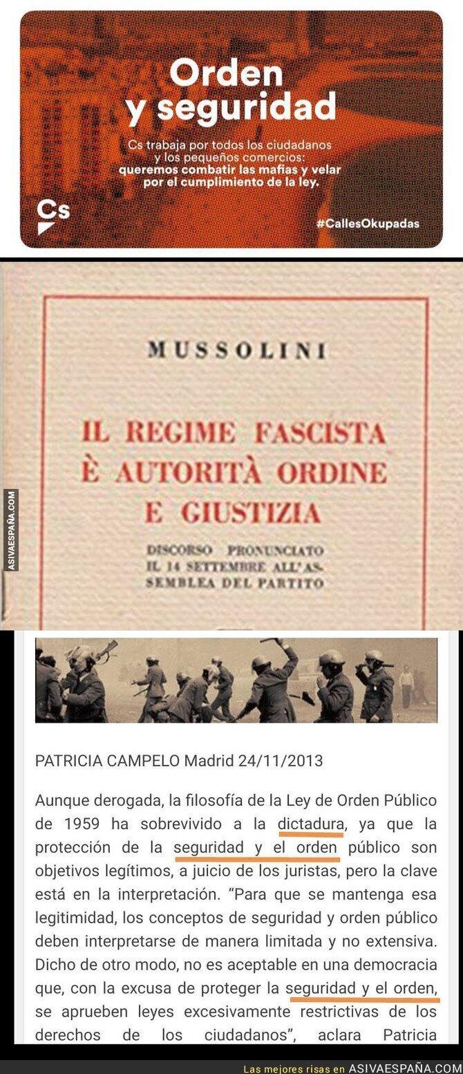90878 - La campaña fascista de Ciudadanos que recuerda a otra época
