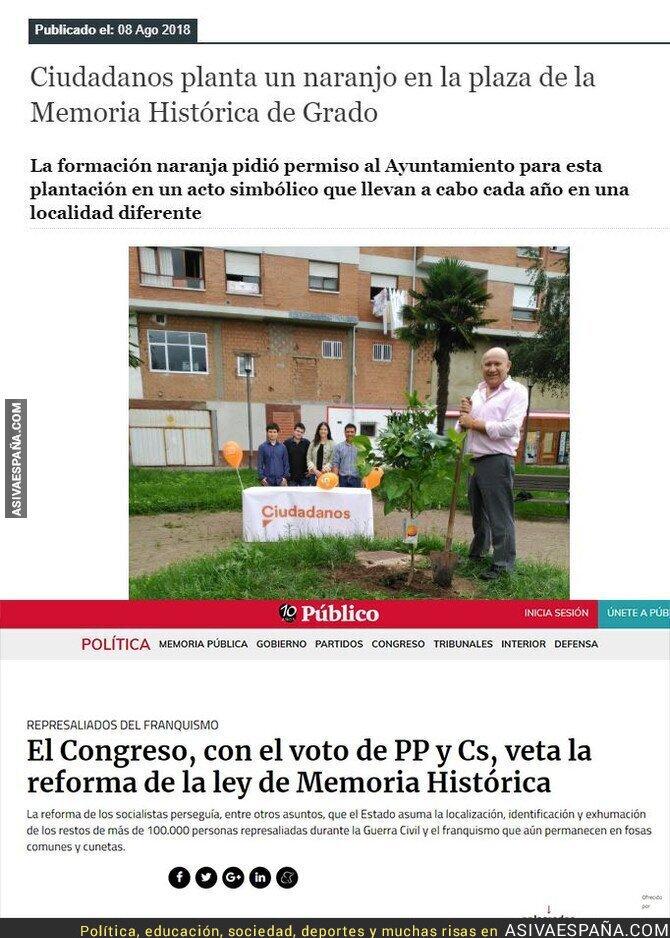 90932 - La hipocresía de Ciudadanos con la memoria histórica