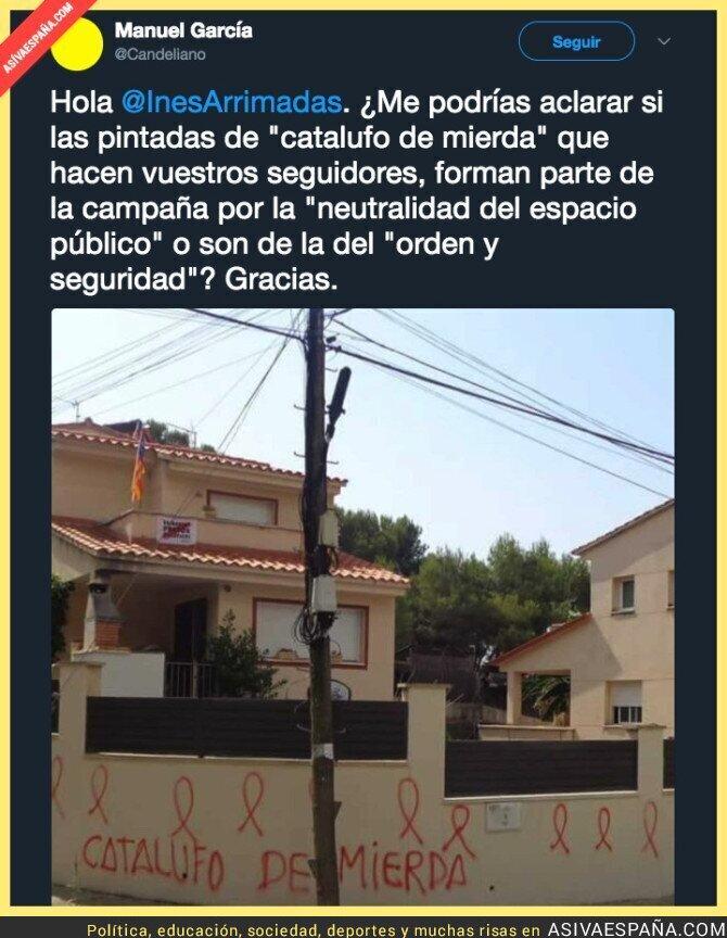 91137 - Las pintadas que gustan en Ciudadanos